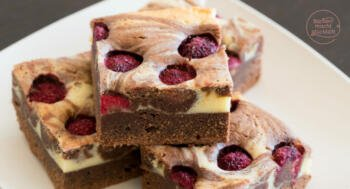 Cheesecake Brownies: Brownie-Käsekuchen vom Blech