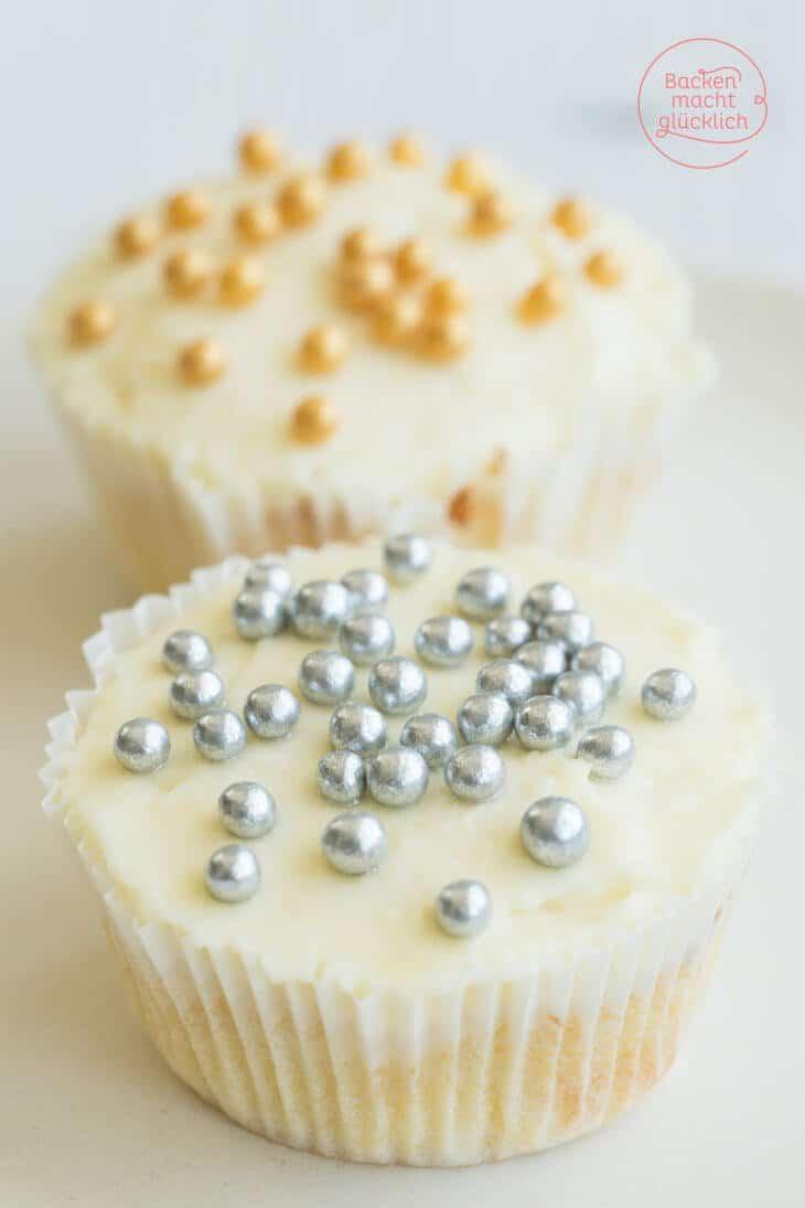 cupcakes mit weisser schokolade