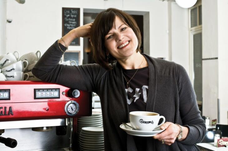 Cynthia Barcomis Cafés in Berlin haben mittlerweile Kultstatus. Ich war leider noch nicht dort...    Foto: Jackie Hardt