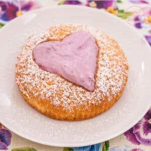 Muttertag Herz Cupcakes