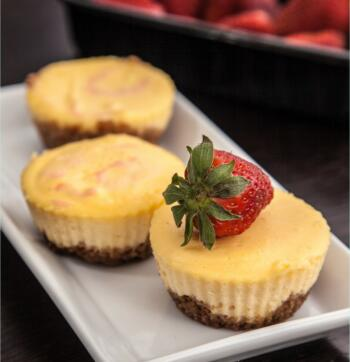Kleine New York Cheesecakes