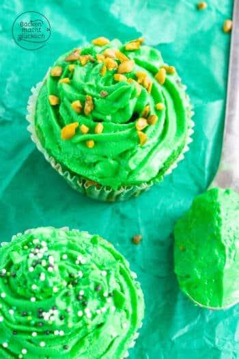 cupcakes grüne farbe