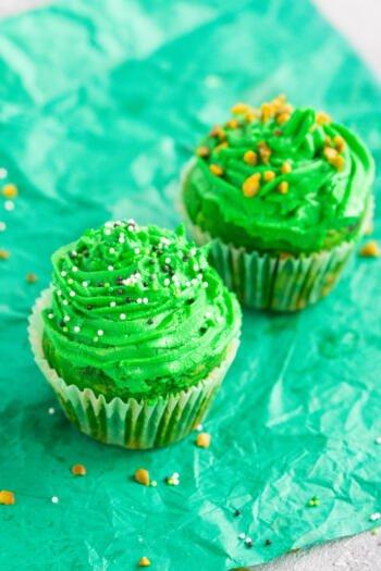 Waldmeister Cupcakes Rezept