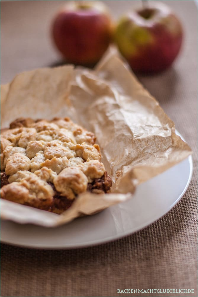 Apple-Streusel-Bars