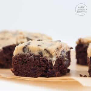 Brownies mit Keksteig