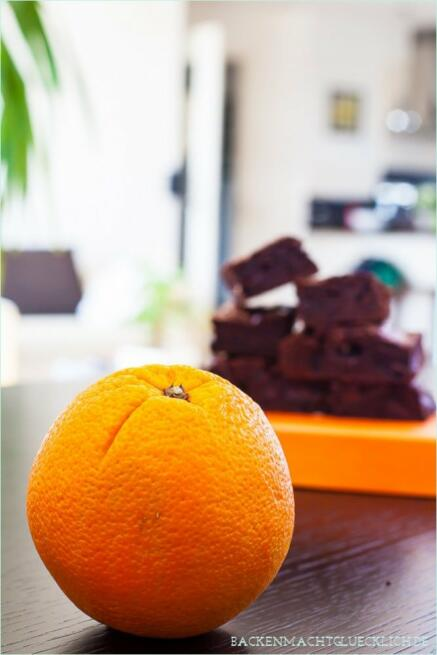 Orangen-Schoko-Brownies