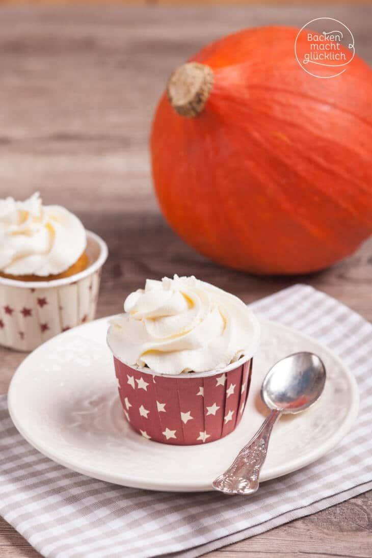 Kürbiscupcakes Pumpkin Cupcakes