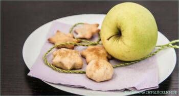 Apfel-Kekse ohne Butter