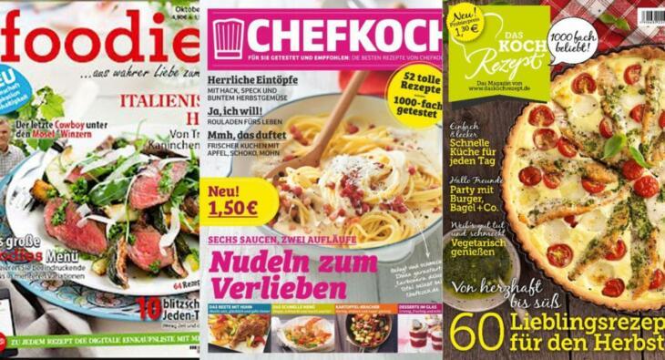 Neue Magazine Chefkoch, Das Kochrezept und Foodies