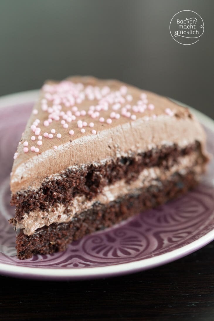 Schoko-Buttercreme-Torte