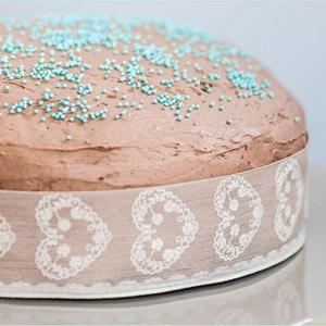 Schokoladen-Buttercreme-Torte