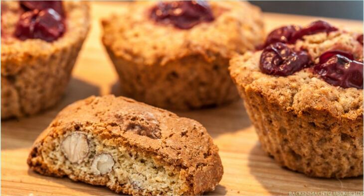Muffins mit Cantuccini