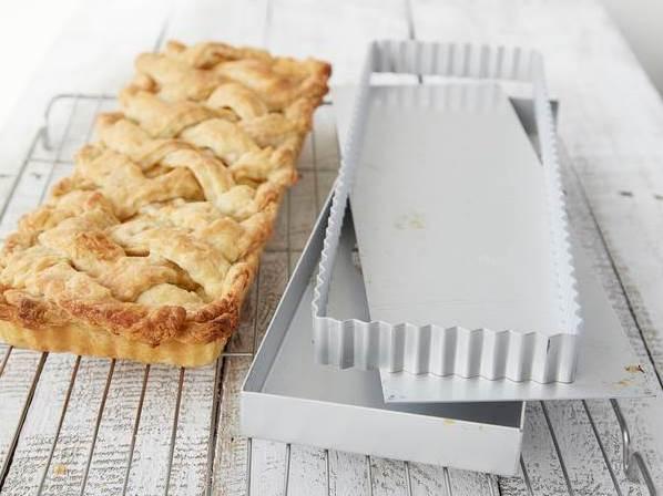 Das beste Apfelkuchen-Rezept: Apple Pie Backform Cynthia Barcomi