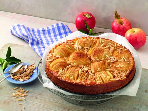 Das beste Apfelkuchen-Rezept: Versunkener Apfelkuchen Backform von Kaiser