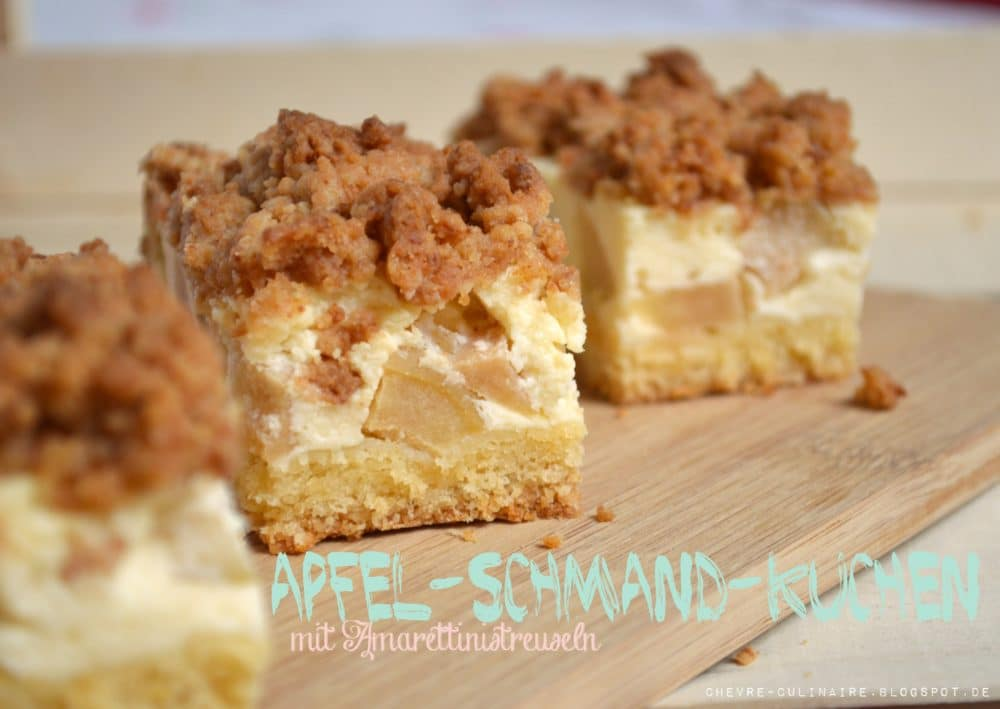 Apfel-Schmand-Blechkuchen
