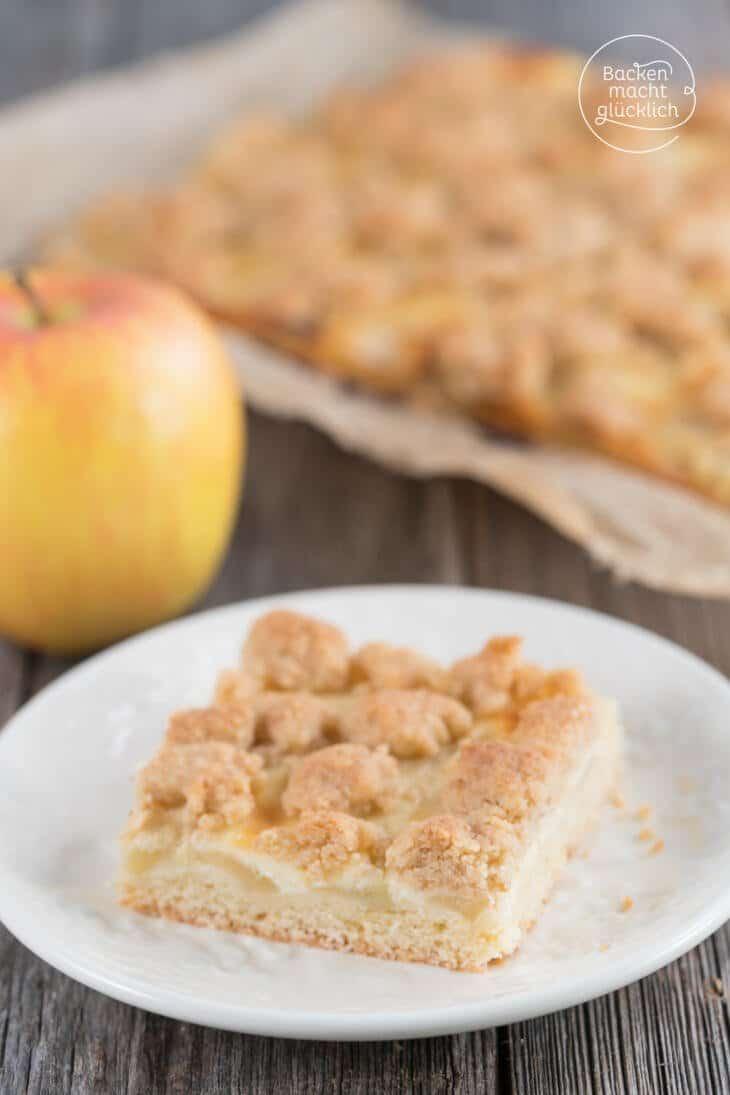 Apfel-Schmand-Kuchen mit Streuseln