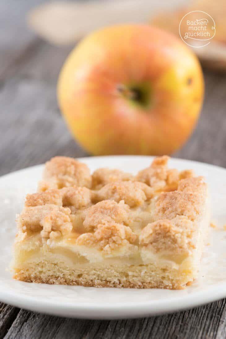 Apfelkuchen Mit Streuseln Und Schmand Backen Macht Glucklich