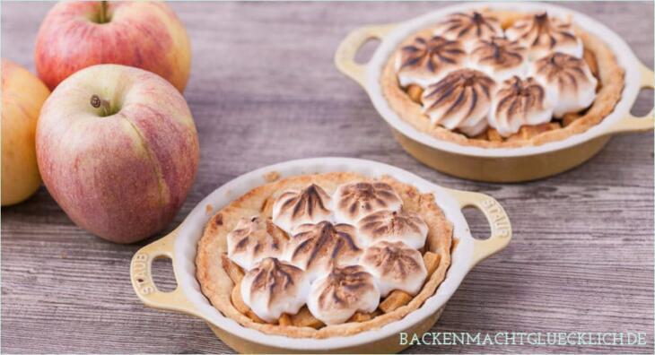 Apfeltoertchen mit Baiser