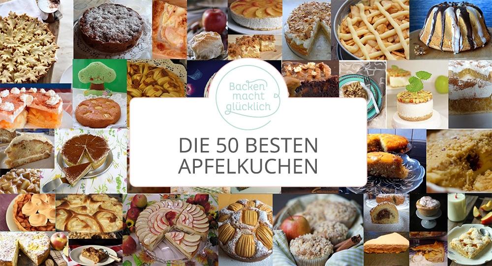 Die 50 besten Apfelkuchen-Rezepte | Backen macht glücklich