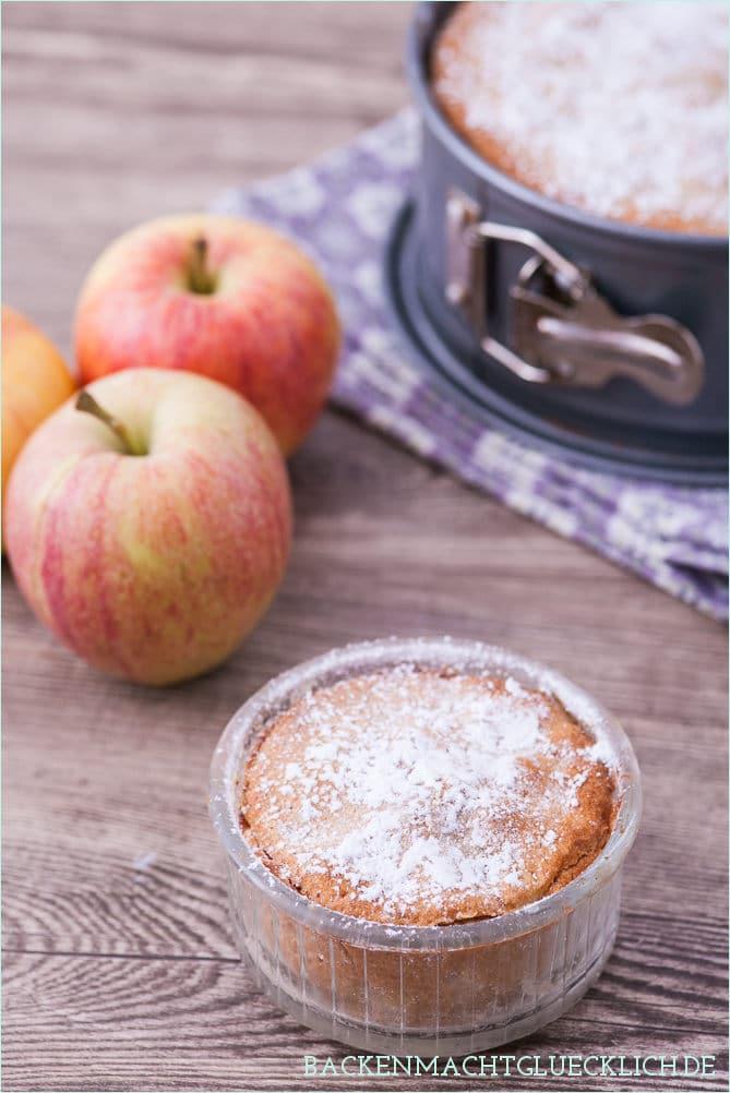 Gedeckter Apfelkuchen Mürbteig