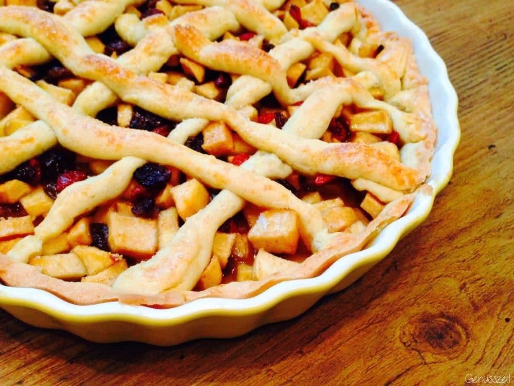 Apple Pie mit Rosinen