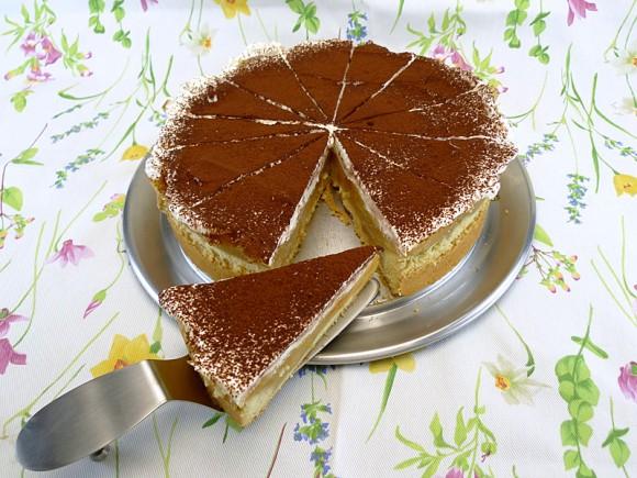 Peter-Spandl-Apfelkuchen mit Apfelweinschaum