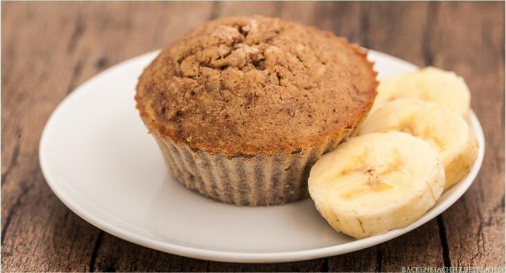 Bananenmuffins mit Zimt