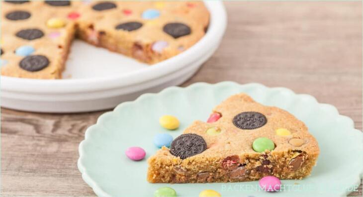 Chewy Cookie Pie Rezept