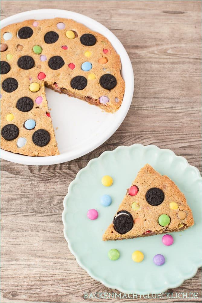 Cookie Pie Kuchen Mit Sussigkeiten Backen Macht Glucklich
