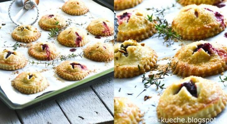 Rezept Hand Pies mit Ziegenfrischkäse