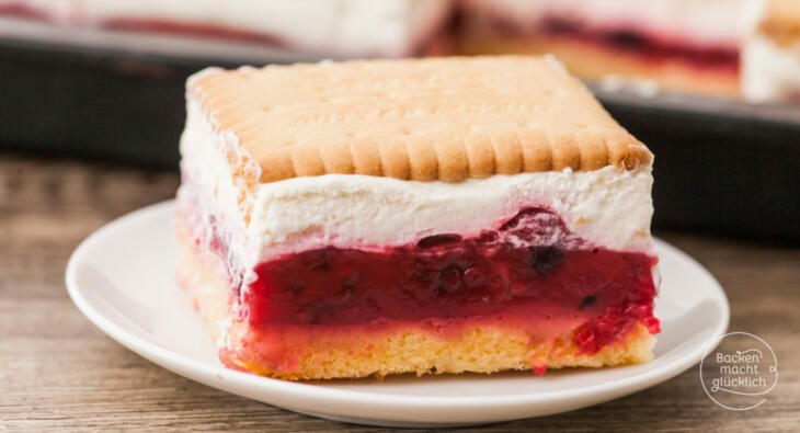 Butterkeks Kuchen Mit Beeren Backen Macht Glucklich