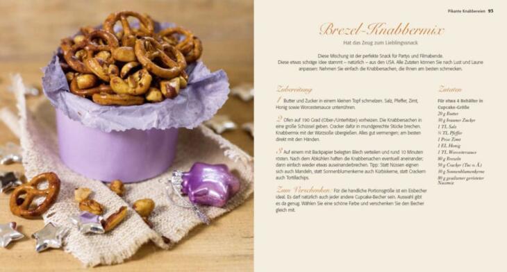 Die kleine Weihnachtsküche Rezepte und Geschenke aus der Küche Knabbermix