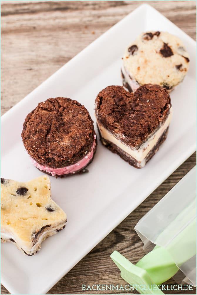 Eis-Sandwich-Maker Rezept Ice Cream Sandwich recipe