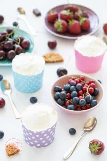 Gesundes Frozen Joghurt Rezept