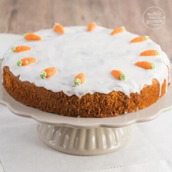Wunderbar saftiger Karottenkuchen