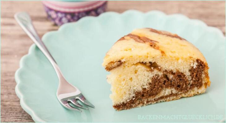 Zebrakuchen Mit Sahne Statt Butter Backen Macht Glucklich