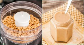Grundrezept für Erdnussbutter und Mandelmus