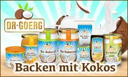 Premium-Bio- Kokosnussprodukte
