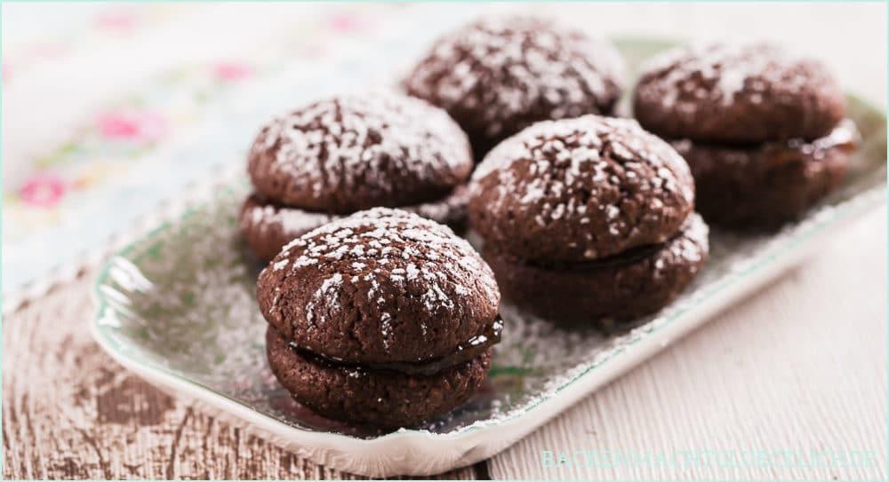 Gefüllte Schokoladenkekse | Backen macht glücklich