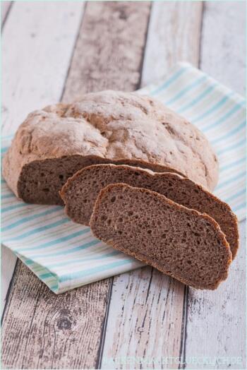 Glutenfreies Brot ohne Weizenmehl