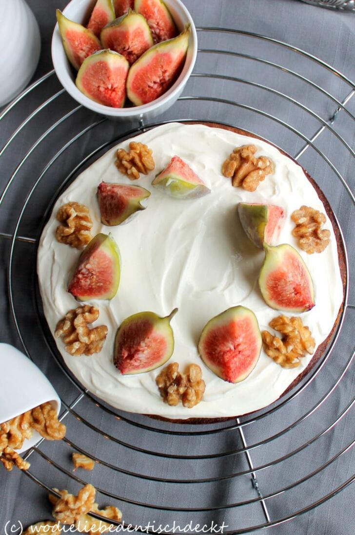 Kaffee-Walnuss-Torte Rezept
