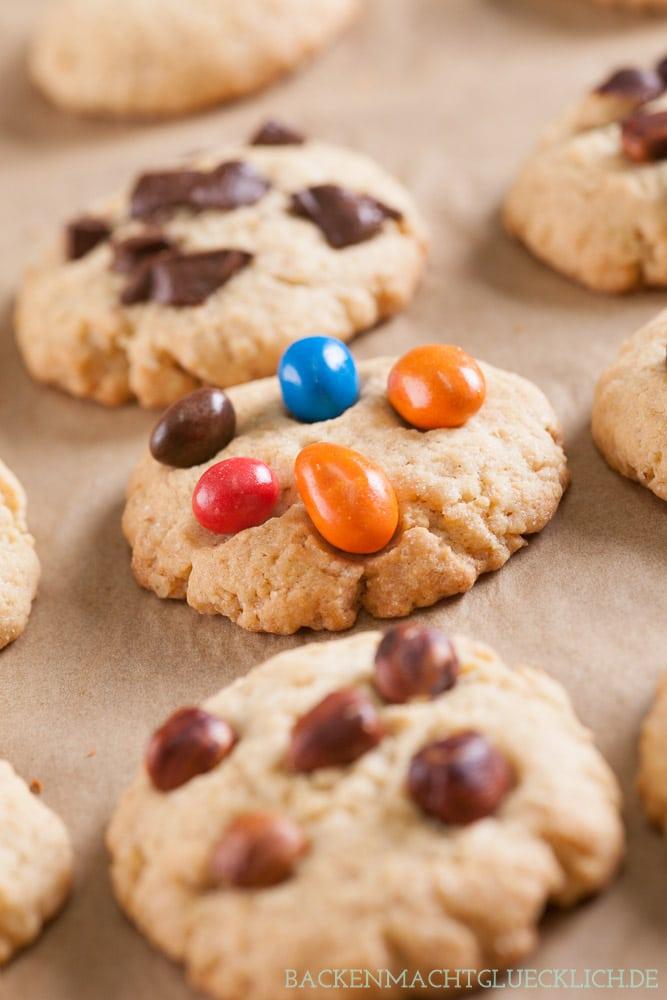 Cookie-Rezept Backmischung im Glas