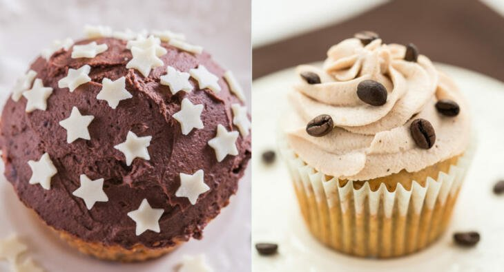 Cupcake Toppings und Frostings