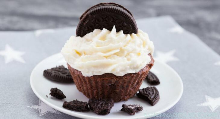 Einfache Oreo-Cupcakes