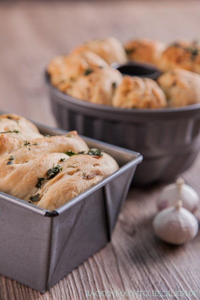 Herzhaftes Pull-Apart-Bread Monkeybread