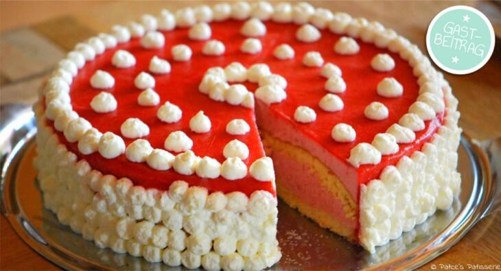 Erdbeer Buttermilch Torte Backen Macht Glucklich