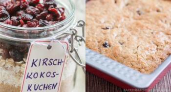 Kuchen-Backmischung im Glas selbermachen