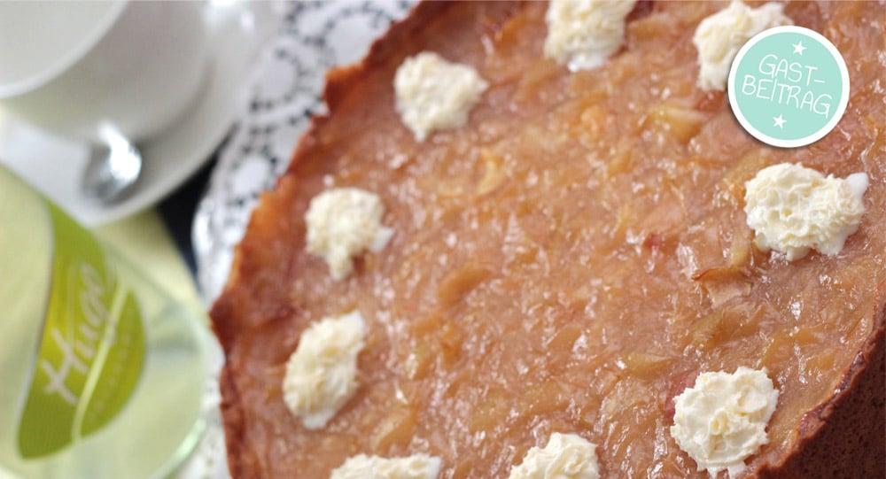 bester apfelkuchen mit vanillepudding