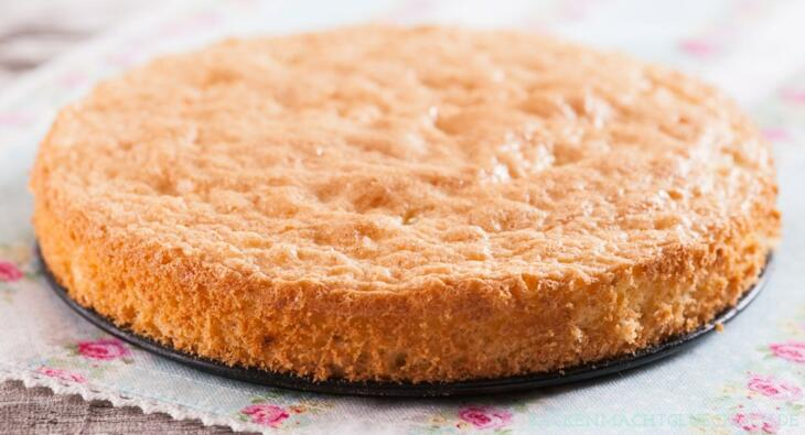 Biskuit-Teig Grundrezept