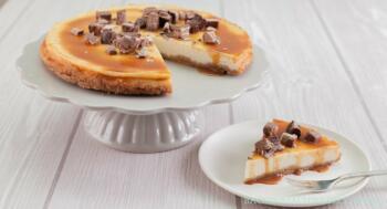 American Cheesecake mit Karamell